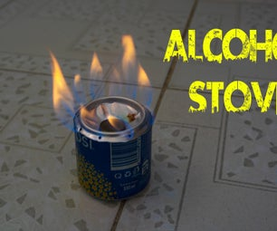How to Make an Alcohol Stove Using Aluminium Can