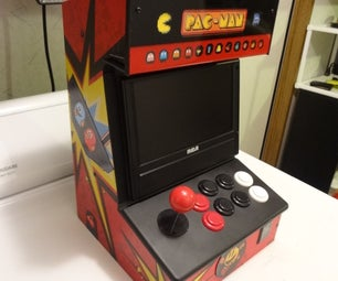 20 Hour $20 Table Top Arcade Build With Hundreds of Games Built In.