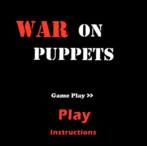 Picture of WAR on Puppets - New Flash Game