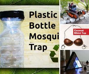 [newsletter] Cheap Mosquito Trap, RC Tank, Coconut Bikini Top