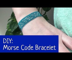 How to Make a Morse Code Bracelet on a Bead Loom