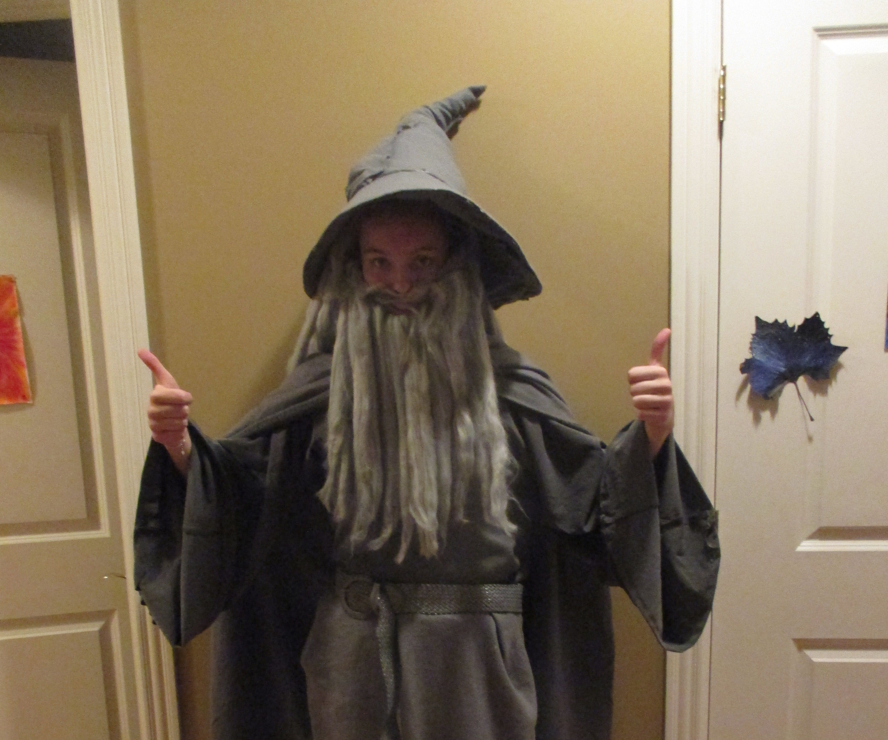 Cheap And Easy Gandalf Costume 8 Steps With Pictures