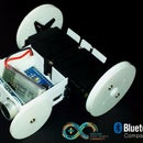 SparkRover - 3D Printed Smartphone Controlled Robot