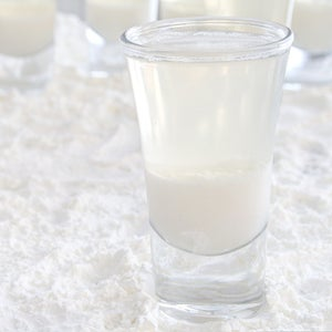 The Flurry:  a Coconut Jell-O Shot