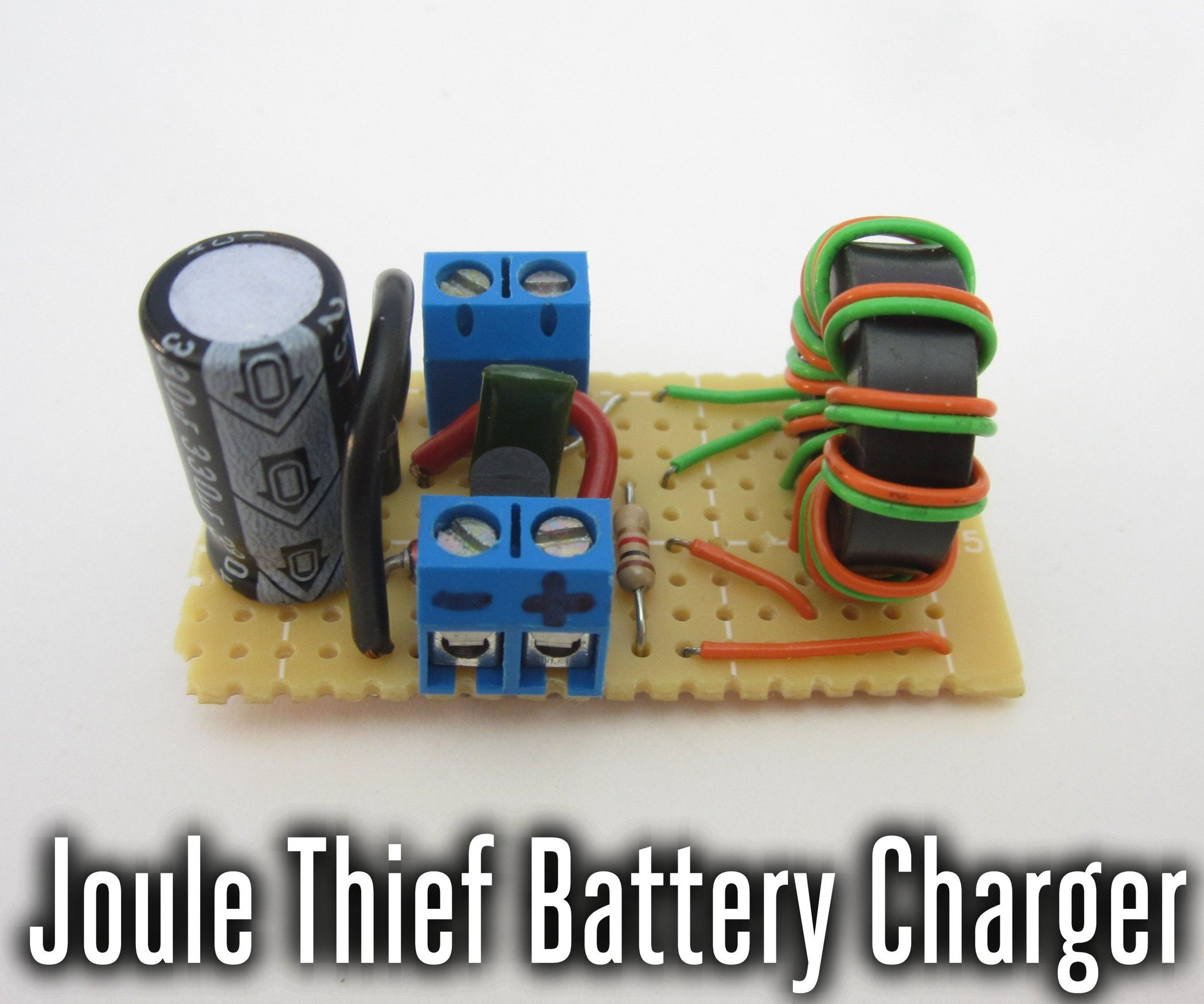 How To Make A Nimh Nicd Battery Charger Circuit Homemade Joule Thief Low Voltage 9 Steps With Pictures