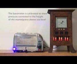 Nixie Clock Mood Barometer