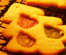 See Through Stained Glass Cookies