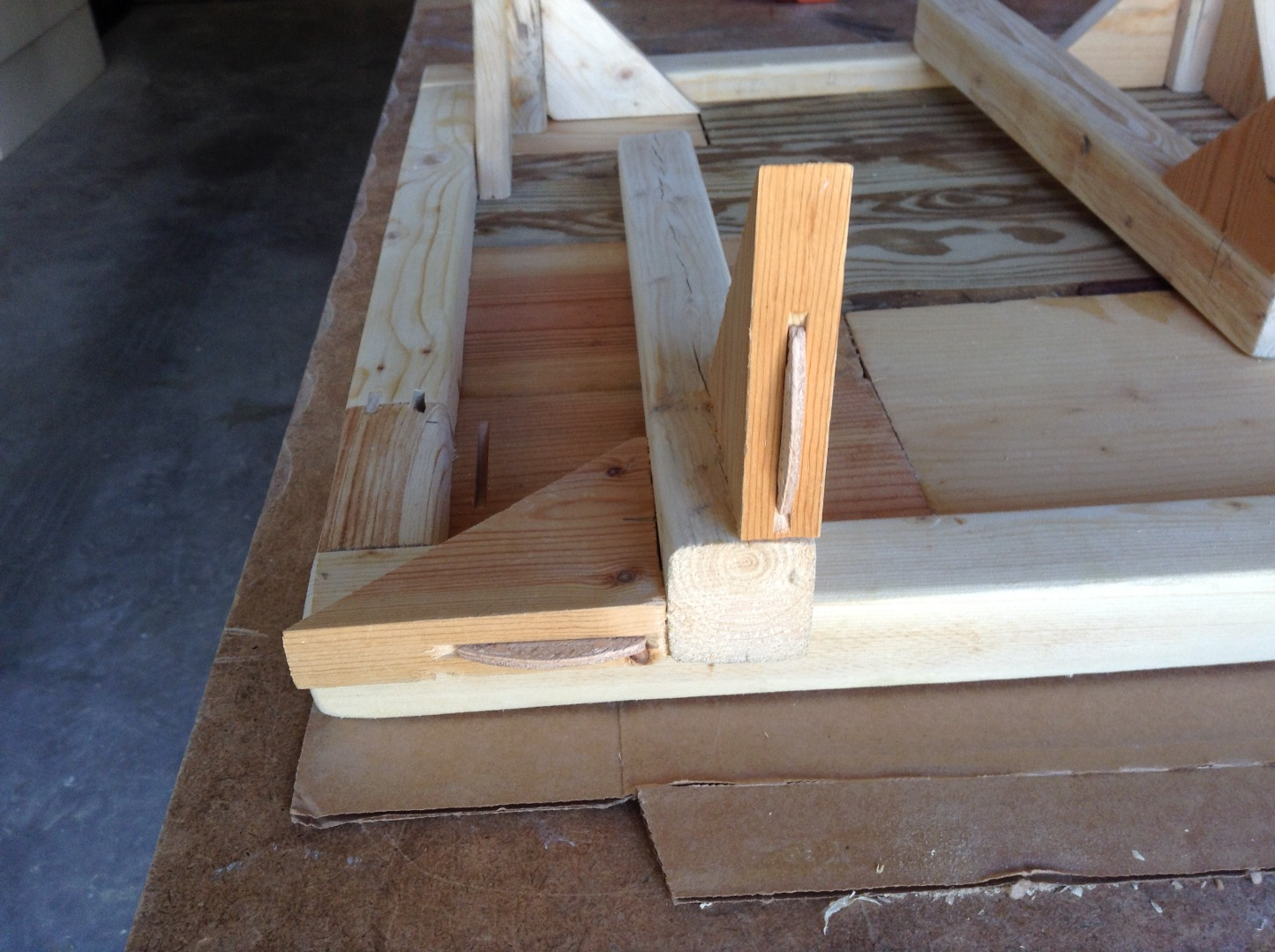 Picture of Assembly - Part Three - the Legs