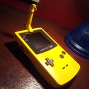 Battery powered gameboy Light: another project with SUGRU
