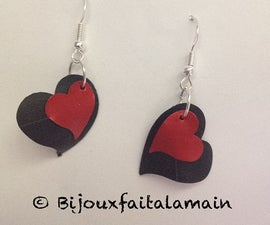 How to Make Heart Shaped Earrings
