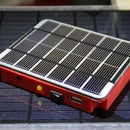 (Another) Solar mobile charger with custom printed case