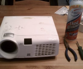Disassemble and Clean an Optoma HD70 Projector