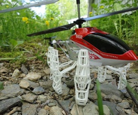 Upgrading the 3.5-Channel S032G Remote Control Helicopter's Landing Skids
