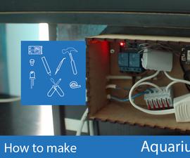 Aquarium Controller Using NodeMCU and MQTT