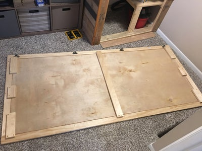Install the Panel and Add Supports