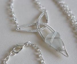 Celtic Knot Elvish Pendant