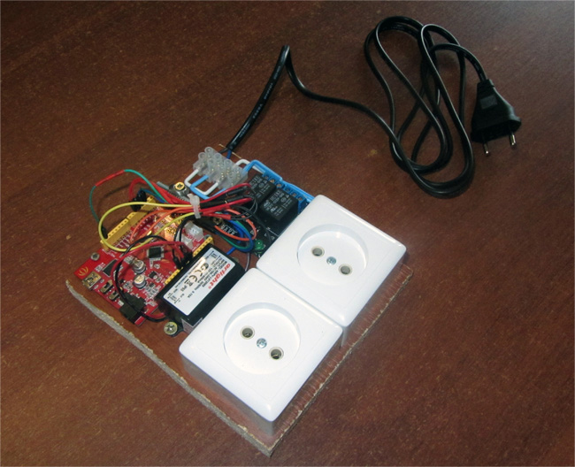 Picture of Smart Power Socket Control From Your Smartphone Via Bluetooth