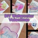 Simple Watercolor Valentine's