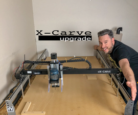 1800 MM X-Carve Upgrade