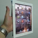 One-handed iPad2 Smart Cover-based holder