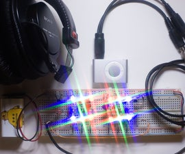 LED Color Organ Triple Deluxe