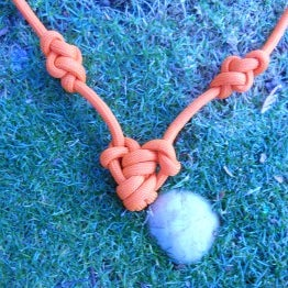 Paracord heart pendant with eternity knot accents.jpg