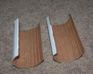 Roll Cardboard Into Tube