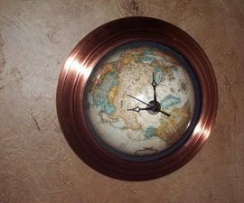 Build a globe clock