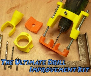 The Ultimate Drill Improvement Kit