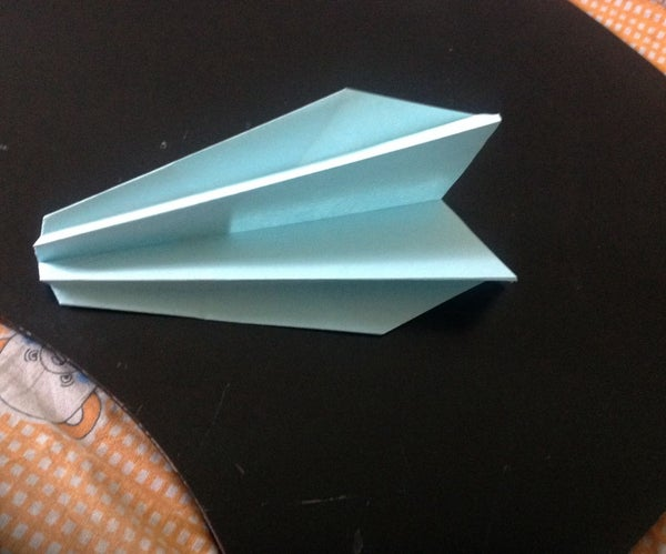 Double sided fast paper airplane