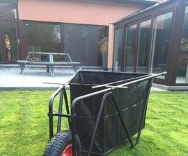 Flatpacked wheelbarrow