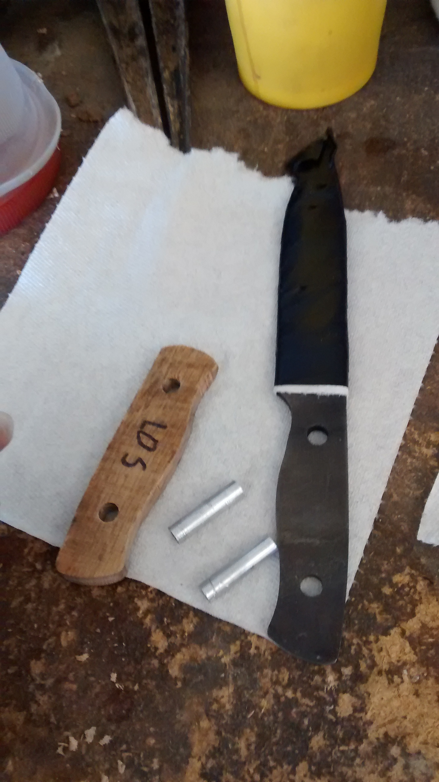 Picture of Glue Handle Scales