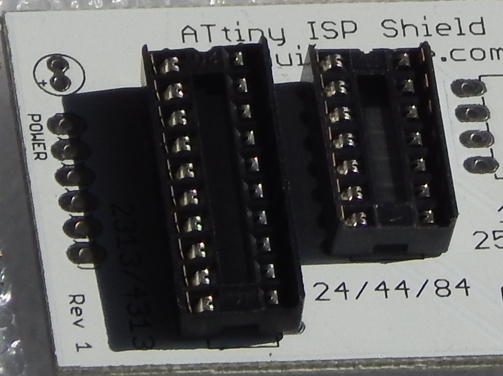 Picture of Solder 14 Pin IC Header to Main Board
