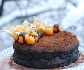 Truffle Cake Without Flour