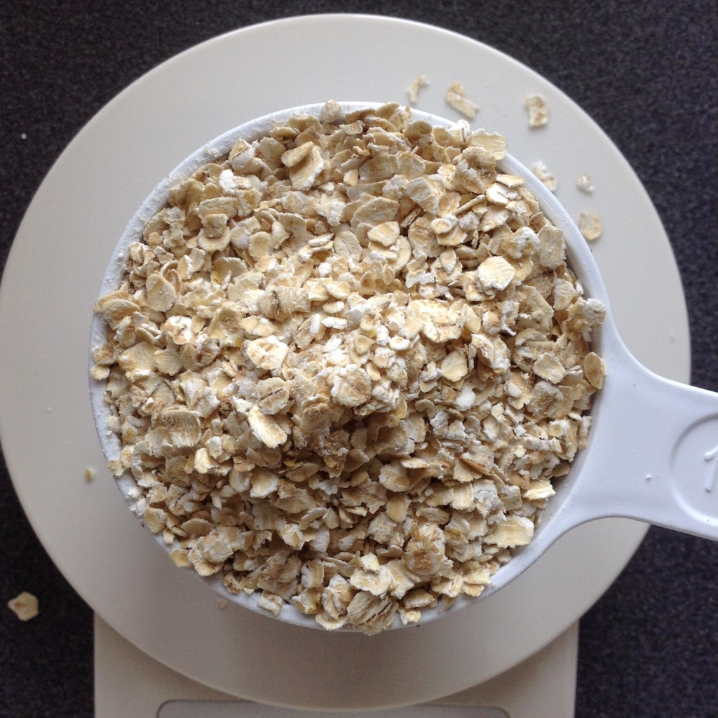 Picture of Crispy Oatmeal: Dry Ingredients