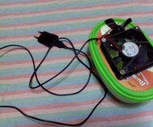 Homemade Mini Air Conditioner