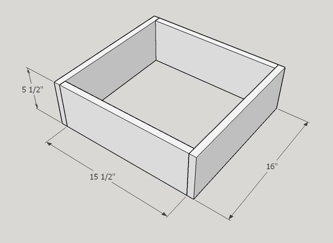 Picture of Two Larger Drawers