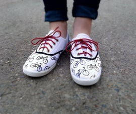 Bicycle Canvas Shoes