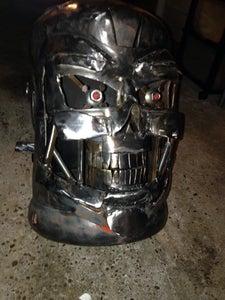 Terminator Gas Bottle Log Burner