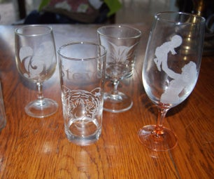 Glass Engraving - Fun and Easy