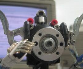 Robot figures from junk
