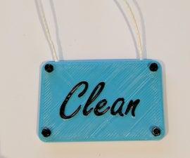 Clean/Dirty Argument Saver