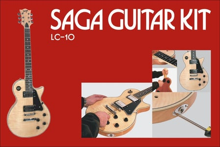 How to Build a Saga LP LC-10 Kit, and Add Flashing LED's