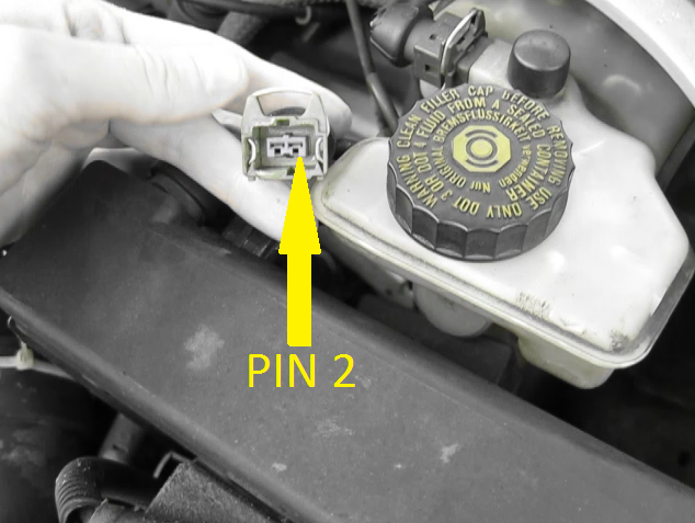 Picture of How to Read Peugeot and Citroen 2-pin Fault Flash Codes. Using a Test Lamp.