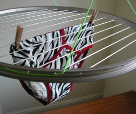 Bike Wheel Laundry Airer