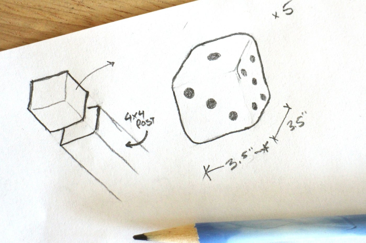 Project Time - Yard Dice With Perfectly Straight Cuts