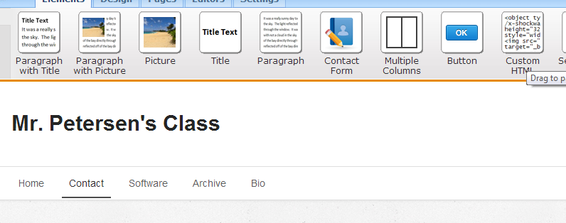 Picture of Edit Your Weebly Site