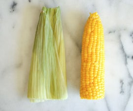 How to never shuck corn again