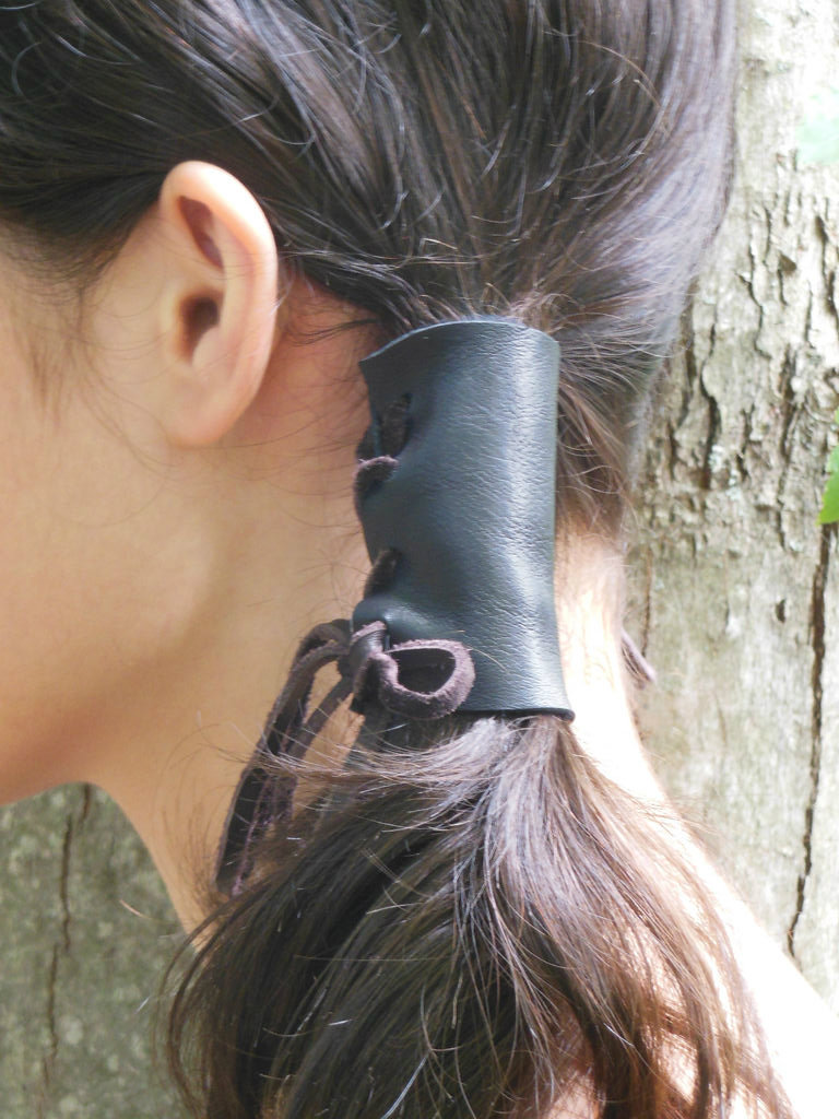 Picture of DIY Leather Pigtail Holders
