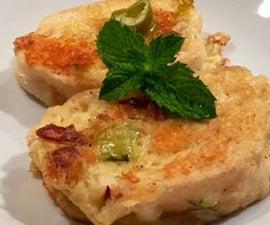 jalapeño cheese toast